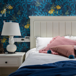 美式风格之碟愿温馨房间设计图