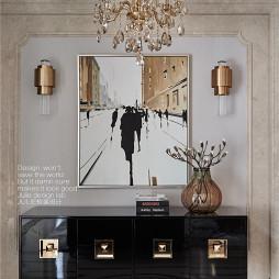 美式风格柜子细节设计图