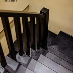 现代风格黑色楼梯设计图