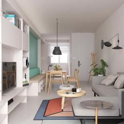 北欧风格简单客厅
