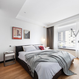 现代风格宽敞房间设计图