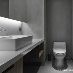 混搭办公区洗手间设计