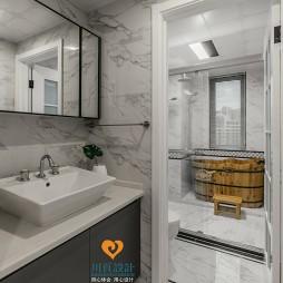 轻奢时尚的现代风格四居室卫浴设计