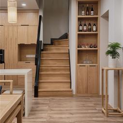复古的中式风格楼梯设计