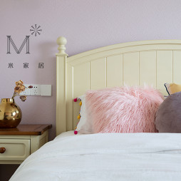 好看的美式风格二居室卧室设计