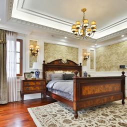 好看的美式风格别墅卧室设计