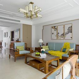宽敞的中式风格客厅设计