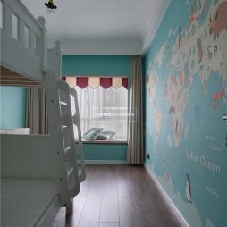 收纳控的精致美式风格儿童房设计