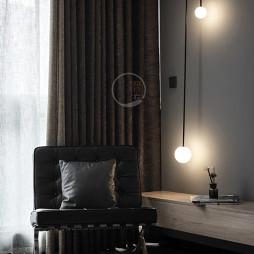 康城简约风跃层三居客厅吊灯设计图