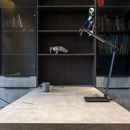 二居现代简约书房设计