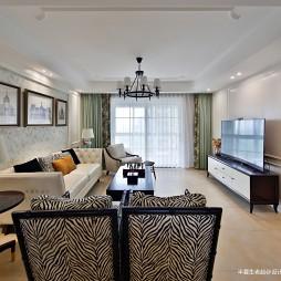 住宅美式客厅装修设计