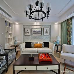 三居住宅美式客厅设计