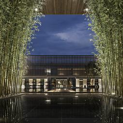 售楼中心外院设计