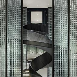 售楼中心旋转楼梯设计