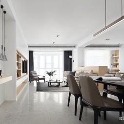 住宅三居现代餐厅设计