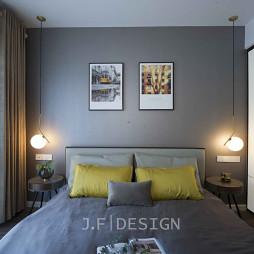 简洁大气的现代卧室设计