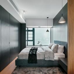 三居私宅简约卧室设计
