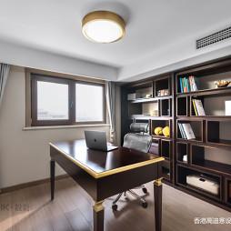 复式混搭书房设计