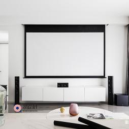 三居现代客厅装修设计