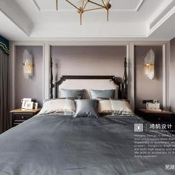 三居美式卧室设计