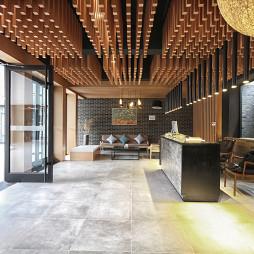 民宿酒店接待大堂设计
