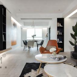 现代北欧客厅设计