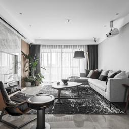二居现代客厅设计