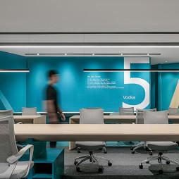 开放式办公司区域设计
