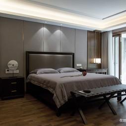 中式别墅主卧设计