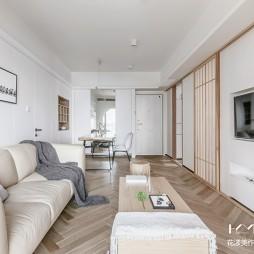 日式二居客厅设计实景