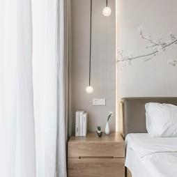 日式二居主卧吊灯设计