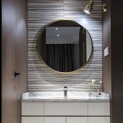 现代复式卫浴设计实景