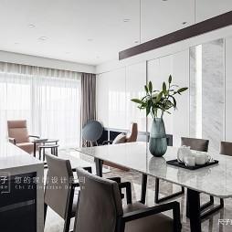现代四居餐厅设计
