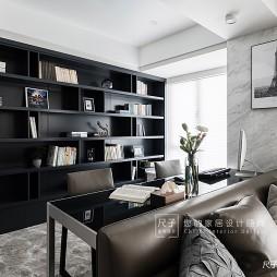 现代四居书房设计