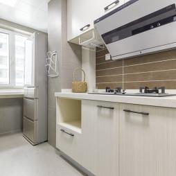 70平米北欧厨房设计