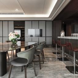 新古典豪宅餐廳設計