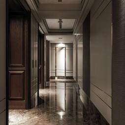 新古典豪宅過道設計