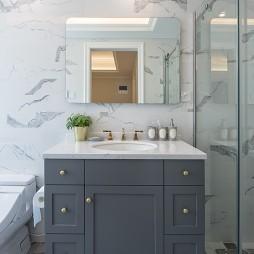 美式四居卫浴洗手台设计
