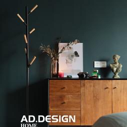 纯色现代卧室落地灯设计