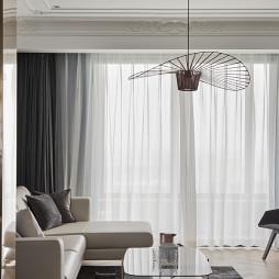 现代法式客厅吊灯设计