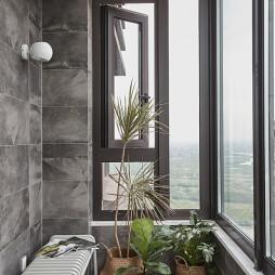 现代法式阳台设计