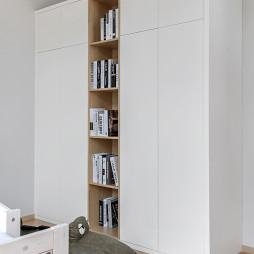北欧别墅儿童房衣柜设计