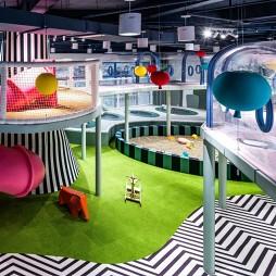 """""""梦境中的乐园""""幼儿园游玩区设计"""