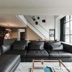 静谧现代别墅客厅设计