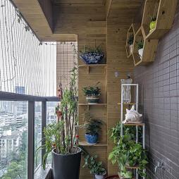 中式豪宅阳台设计