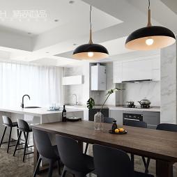 现代小户型厨房设计实景