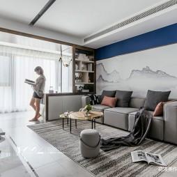 画意现代客厅设计图片