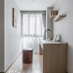 画意现代卧室书房设计