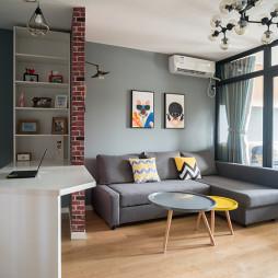 7度公寓简约客厅沙发设计
