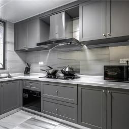 复古混搭厨房设计
